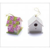 Miniature Wooden Bird Box