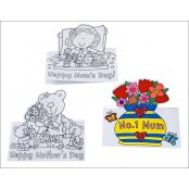Mothers Day Pop Up Cards - 8 Pack