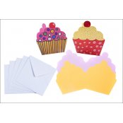 Cupcake Cards - 4 Pack