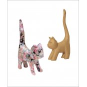 Decopatch Paper Mache Extra Small Cat With Tail - AP129