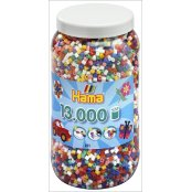 Hama 13,000 Bead Jar - Solid Colours