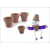 Terracotta Flower Pot - 15 Pack