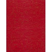 Decopatch Paper 336 -  Half Sheet - Red & Gold Cracked