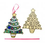 Christmas Tree Card For Decoration - 5 Pack