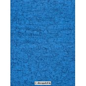 Decopatch Paper 302 -Half Sheet - Blue Cracked
