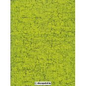 Decopatch Paper 301 - Half Sheet - Green Cracked