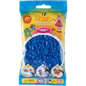 Hama Beads Solid Colours 1000 Pack - 09 Light Blue