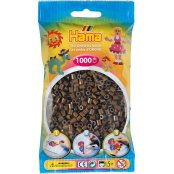 Hama Beads Solid Colours 1000 Pack - 12 Brown