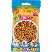 Hama Beads Solid Colours 1000 Pack - 21 Light Brown
