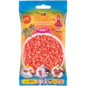 Hama Beads Solid Colours 1000 Pack - 44 Pastel Red
