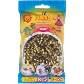Hama Beads Solid Colours 1000 Pack - 63 Bronze