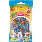 Hama Beads 1000 Pack - 54 Glitter Mix