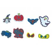 Halloween Foam Stickers - 60 Pack