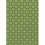 Decopatch Paper 643 - Half Sheet - Tropical Green Flower Print
