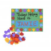Foam Hand Stickers - 40 Pack