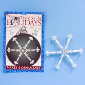 Beaded Snowflake Kit - Makes 4