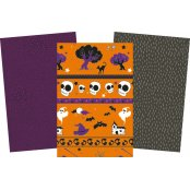 Decopatch Halloween Paper Pack - 3 Half Sheets per Pack