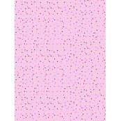 Decopatch Paper  681 - Half Sheet -  Pastel Pink Spots & Hearts
