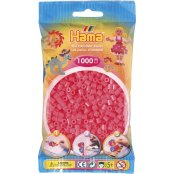 Hama Beads Solid Colours 1000 Pack - 33 Cerise