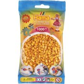 Hama Beads Solid Colours 1000 Pack - 60 Teddy Bear Yellow