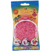 Hama Beads Solid Colours 1000 Pack - 72 Translucent Pink