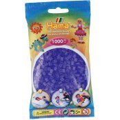 Hama Beads Solid Colours 1000 Pack - 74 Translucent Lilac