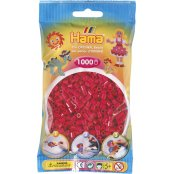 Hama Beads Solid Colours 1000 Pack - 29 Claret
