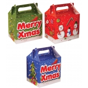 Card Christmas Lunch Box