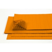 Orange Corcertina Paper - 5 Sheets