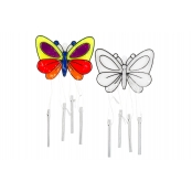 Butterfly Wind Chime Suncatchers