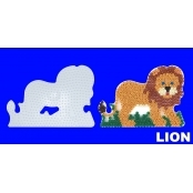 Large Hama Pegboards - Lion