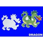 Large Hama Pegboards - Dragon