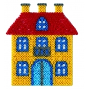 Large Hama Pegboards - House