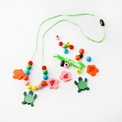 Wooden Tropical Necklace Kit
