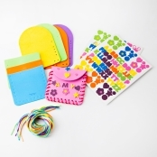 Foam Lacing Purse Kit - Pack Of 12