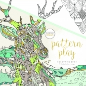 KaiserColour 'Pattern Play' Adult Colouring Book