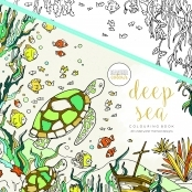 KaiserColour 'Deep Sea' Adult Colouring Book