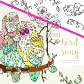 KaiserColour 'Bird Song' Adult Colouring Book