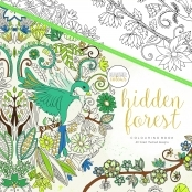 KaiserColour 'Hidden Forest' Adult Colouring Book