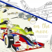 KaiserColour 'On the Move' Adult Colouring Book