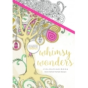 KaiserColour 'Whimsy Wonders' Adult Colouring Book A5