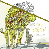 KaiserColour 'On Safari' Adult Colouring Book