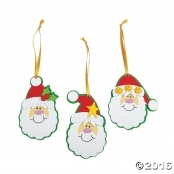 Hanging Foam Santa Kit