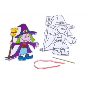 Witch Collage Sheets - Pack Of 6