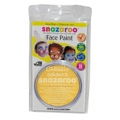 Snazaroo Face and Body Paints - Yellow - 18ml