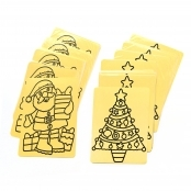 Bumper Pack Of Christmas Peel Off Sheets - Pack Of 24