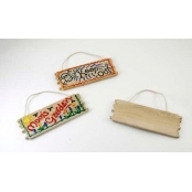 Mini Wooden Hanging Sign