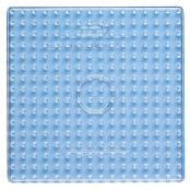 Large Square Clear 14.5cm Pegboard(Single)