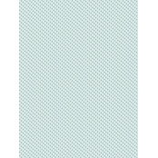 Decopatch Paper 786 Texture - Half Sheet -  Gold/Teal Pattern