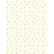 Decopatch Paper 785 Texture - Half Sheet - Gold Ice Cream